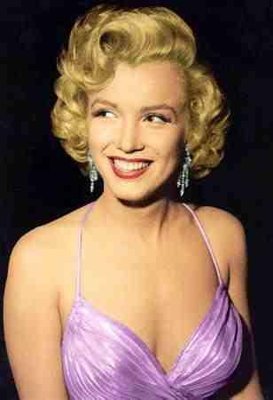 Marilyn Monroe Eye Color Marilyn monroe's stuffing
