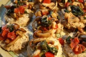 cary grant mushroom canapes