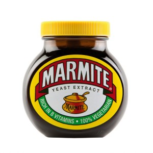May include marmite...