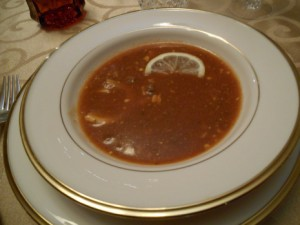 Vincent Price's Snapper Soup