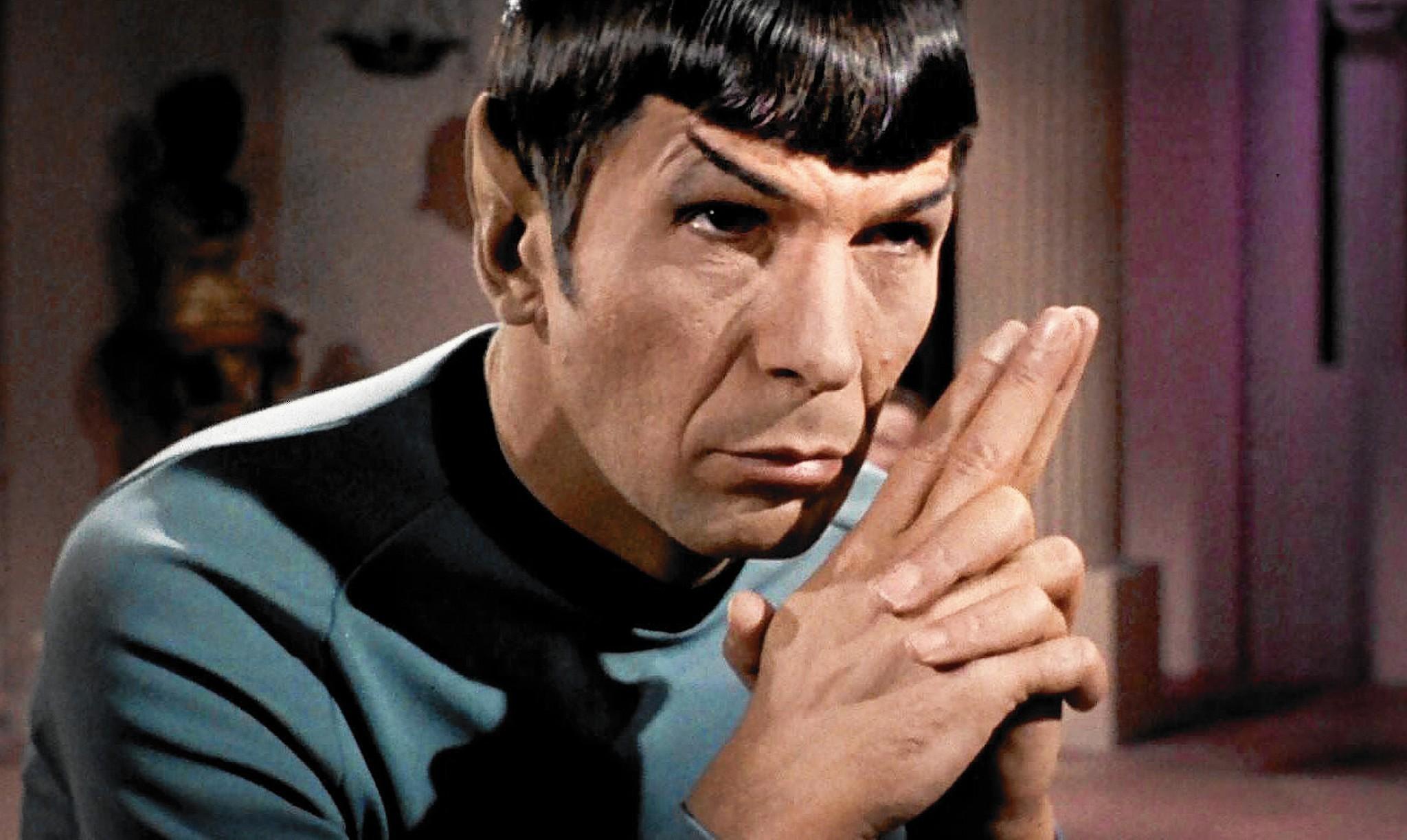 Leonard Nimoy Spock Leonard Nimoy&#...