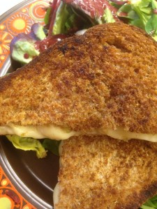 Anne Baxter's Mexican Cheese Sandwich