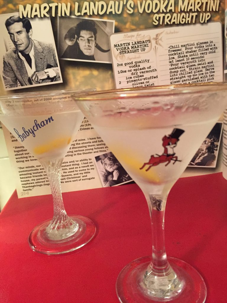 Martin landaus vodka martini straight up silver screen suppers martins martini and the liz and rocks martini recipes are both from greg swensons brill book recipes for rebels soooooo many movie star recipes in sisterspd