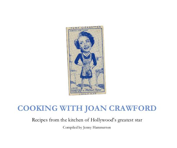 Cooking With Joan Crawford