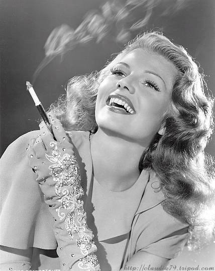 Rita Hayworth's Angel Food Cake