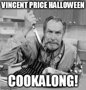 Vincent Price Halloween Cookalong