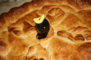 Jimmy Cagney's Apple (Cheese) Pie