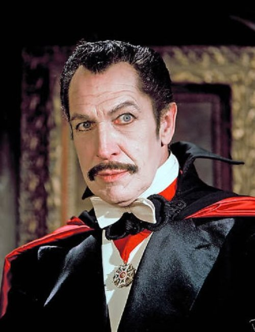 I am in a movie!  Vincent Price's Goulash