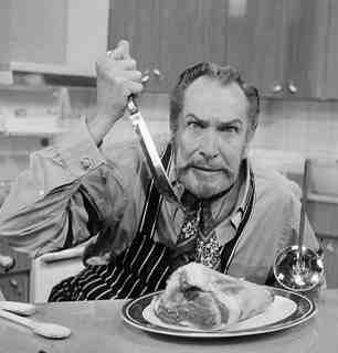 Vincent Price Halloween Cookalong – all invited…
