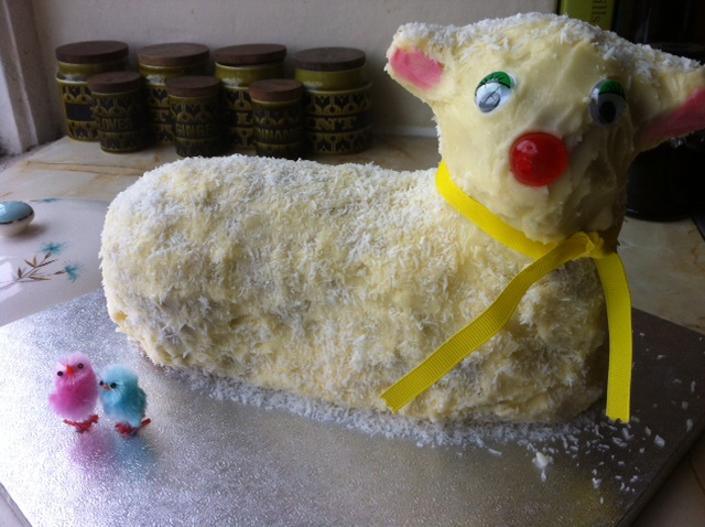 Happy Easter – Lamb Cake