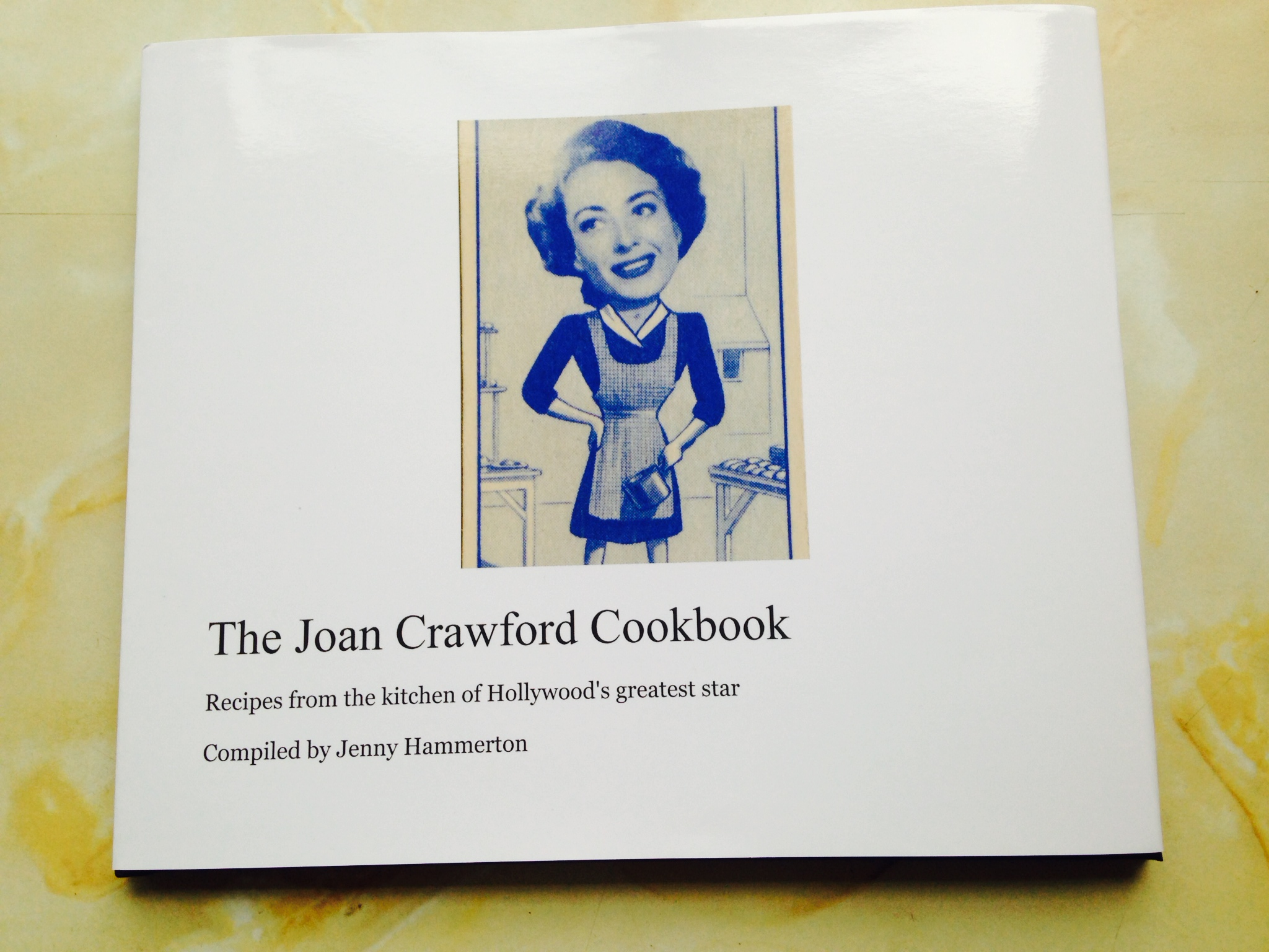The Joan Crawford Cookbook Prototype!