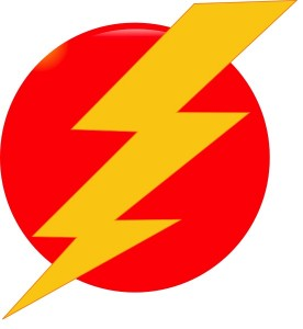 cars_lightning_bolt_yellow_on_red_circle_clker