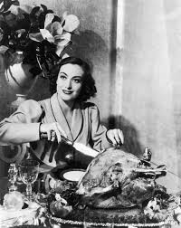 Joan Crawford's Turkey and Noodles Alfredo