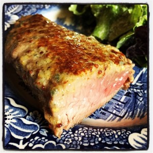 Steaks-with-Roquefort by Lauren Hairston