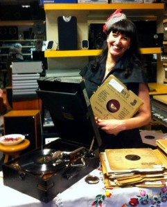 Jenny and her gramophone