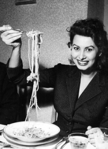 sophia loren spaghetti