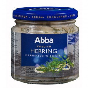 herring with dill