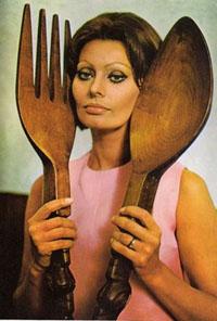 Sophia Loren's Roquefort Cream