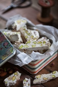 Joan's photo of some nougat...