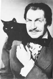Vincent Price with Cat