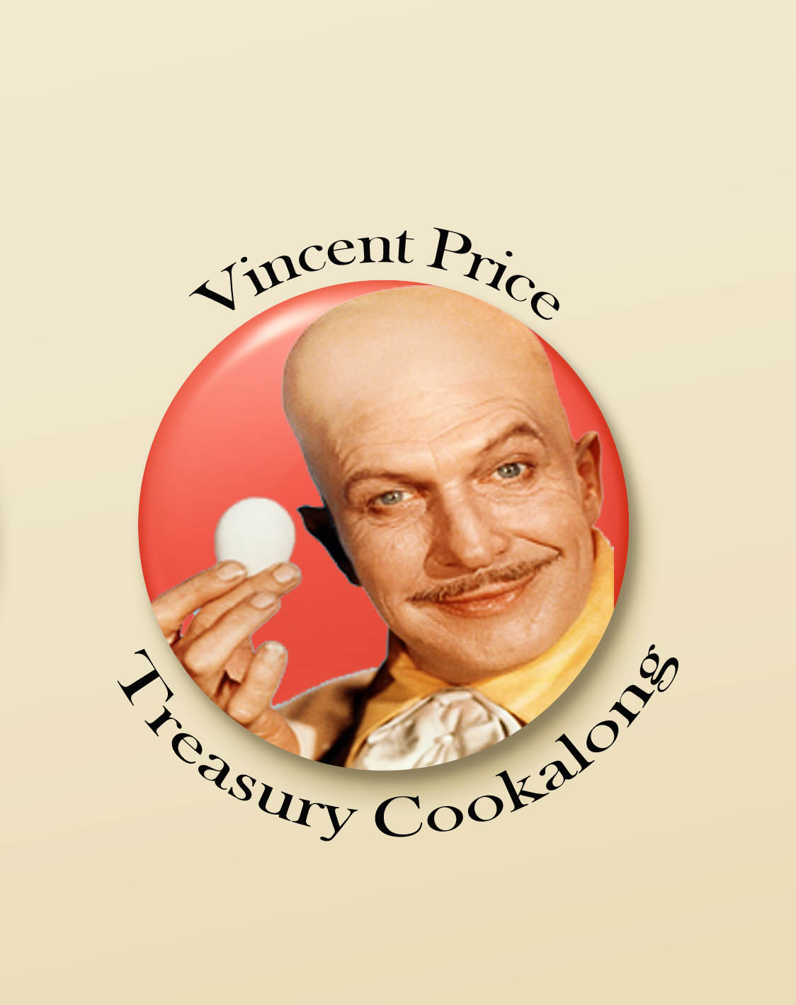 Vincent Price Treasury Cookalong with PRIZES!  All invited!