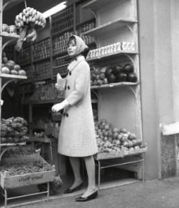 Audrey shopping