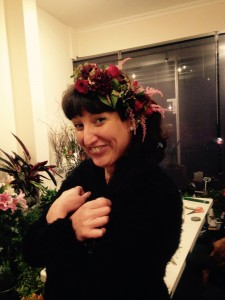 Week 4 - a rather fetching floral crown