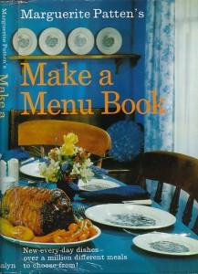 Make a Menu Book