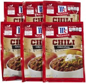 McCormick Chili Seasoning