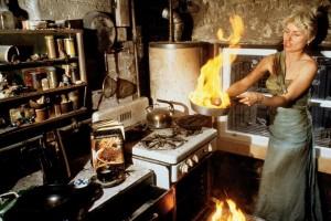Debbie Harry in the Kitchen