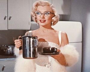 Marilyn Monroe in Glasses