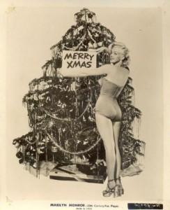 merry xmas from marilyn