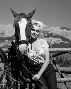 Marilyn and Horse