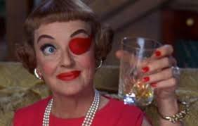 Bette with a drink