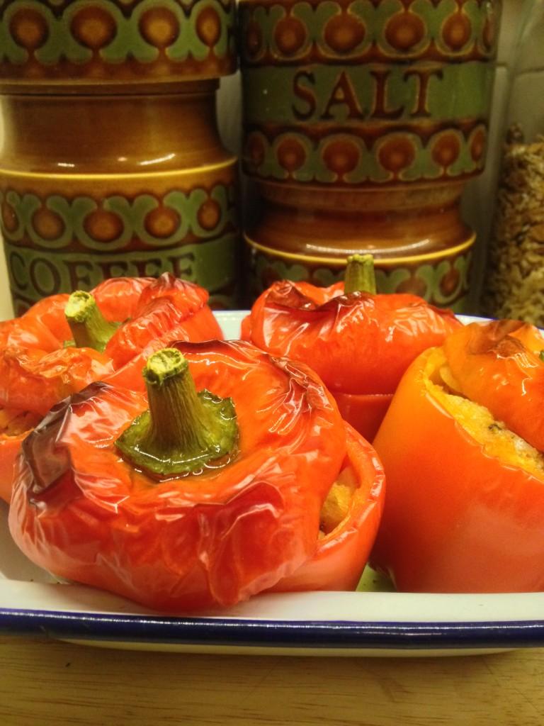 Shera Danese's Stuffed Peppers