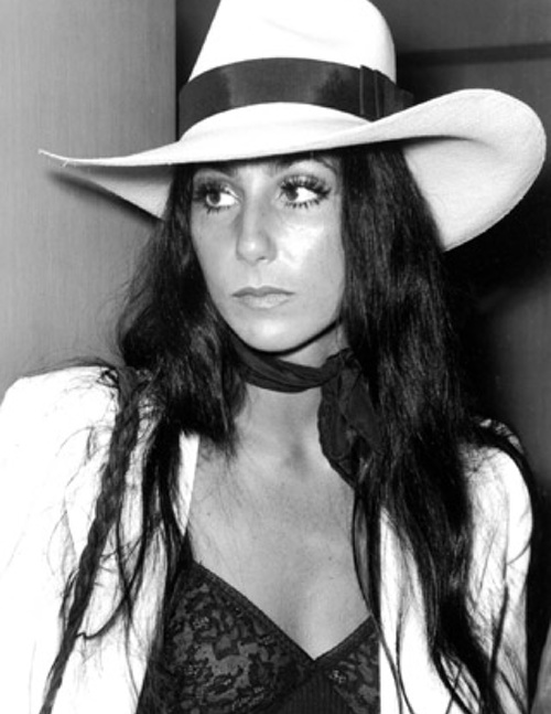 cher+in+fedora+