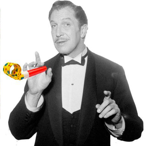 Party Like You Are Vincent Price!