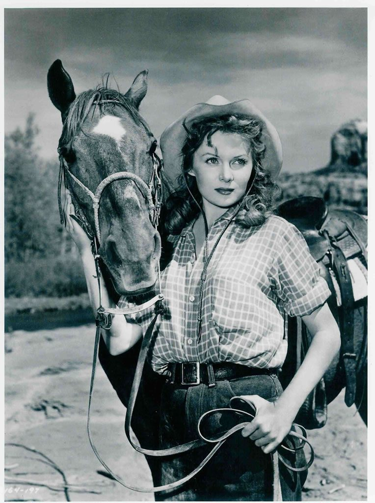 Rhonda Fleming Cowgirl