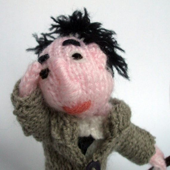 Prize Draw!  Who won the Columbo finger puppet?!