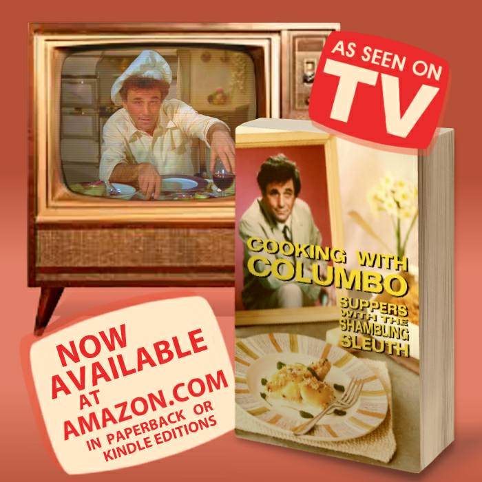 Cooking With Columbo Book Launch