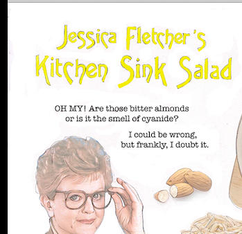 Murder, She Wrote Cookalong – Angela Lansbury's Kitchen Sink Salad