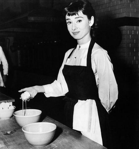 Audrey Hepburn's Gstaad's Pesto