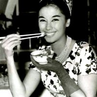 Anne Baxter's Genuine Swiss Quiche and France Nuyen's Spinach Pie