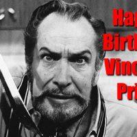 Happy Birthday Vincent Price!  Recipe Testers Unite!