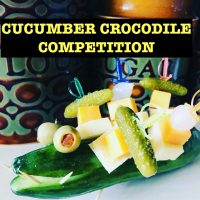 Recipe of the Month – Vincent Price's Cucumber Crocodile